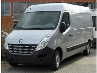 Van for rental/ LWB Renault master/ Man and van