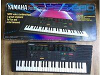 Yamaha PSS-280 Mini Keys Synthesizer Keyboard 1980's MusicStation Arranger keyboard