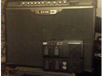 line 6 spider 111 150w guitar amp and fbv mk11 £140 ono