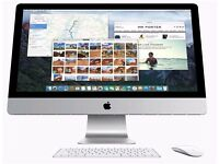 "Late 2015 iMac 27"" 5k Retina Display 4 GHz Intel Core i7 AMD Radeon R9 M395X 4096MB 32 GB Ram"