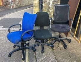 Assorted Office Chairs