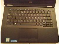 Dell Latitude E7270 max spec i7-6600u 16G DDR4 ram 256GB SSD only one month old