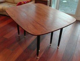 Vintage Mid Century G plan Gomme Dinning Table, drop leaf retro