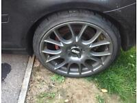 """Bbs alloys. 19"""" w tyres"""