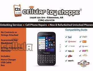 Blackberry Q5 Black Unlocked for all carriers - LIKE NEW