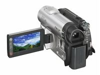 Sony DCR-DVD110 DVD Hybrid Handycam with carrycase for £25