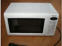 Panasonic NN-E255WB Digital Solo Microwave Oven White
