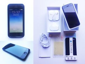 Apple iPhone 5 Bundle - boxed, unlocked, NEW battery, all accessories PLUS new case!