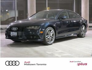 2016 Audi A7 3.0T Technik quattro w/ S line+ Black Optics+ Navi
