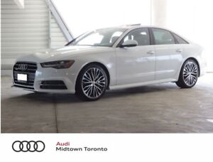 2017 Audi A6 3.0T Technik quattro w/ S line+ Bose+ Navi+ LEDs