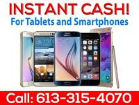 INSTANT QUOTE! $$ Instant CASH For Iphone 5, Iphone 6 Iphone 7! Call Or Text 613-315-4070