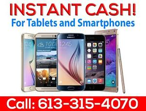 OLD PHONE? Instant CASH $$$ OLD Iphone 5 $$ Old Iphone 6 $$ Iphone 7 $$ Ipads $$ Samsung 7 $$ Call 613-315-4070 Or TEXT!