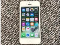 iPhone 5 silver 16GB unlocked