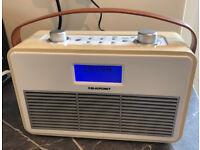 DAB/FM Radio with Bluetooth - Blaupunkt - useful as a kitchen radio