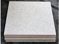 8 Floor Tiles 30cm x 30cm (Unused)