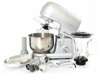 Charles Jacobs 3in1 Multi-functional Kitchen Stand Food Mixer with 5L Stainless Steel Bow - BARGAIN