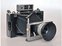Rare vintage Polaroid Land 180 professional camera with extras & film, good condition