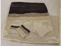 DEBENHAMS Satin Double Duvet Set - Duvet Cover & Pillow Covers