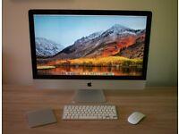 iMac 27inch - Intel i7, 16 meg RAM, 1TB SSD