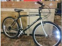 """Shogun trailbreaker 18"""" unisex hybrid bike SERVICED"""