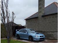 2004 Impreza WRX STI ice blue