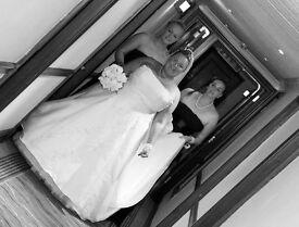 Stunning wedding dress size 16-24