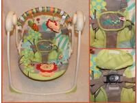 Bright starts swing . Baby bouncer . Jumperoo