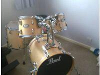 Pearl Vision birch vbx drum kit