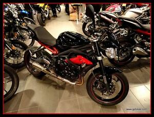 2014 Triumph Street Triple R with Arrow Exhaust