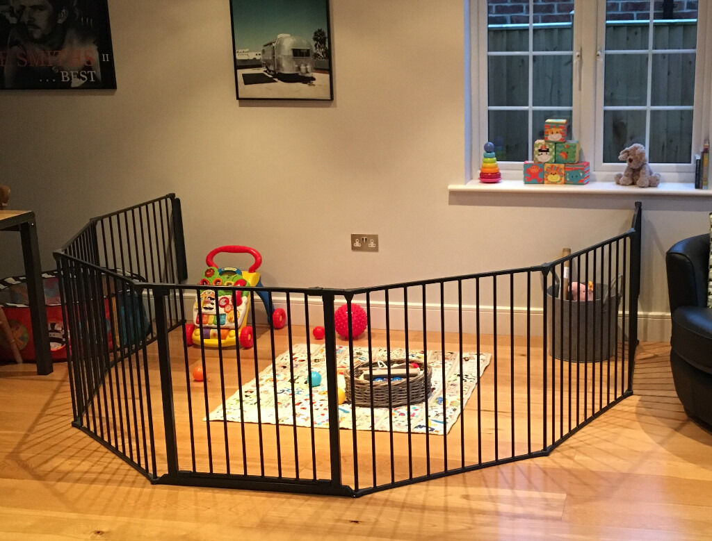 Babydan Xxl Room Divider With 2 Further Panels Extension