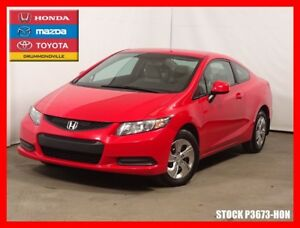 2013 Honda Civic LX +BLUETOOTH+REG.VIT+SIEGES CHAUFFANTS