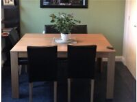 Large wooden kitchen/ dining table (table only), only £30, can deliver locally.