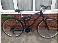 Carrera Crossfuse Mens Electric Hybrid Bike With Bosch System * Only 6 Months Old *
