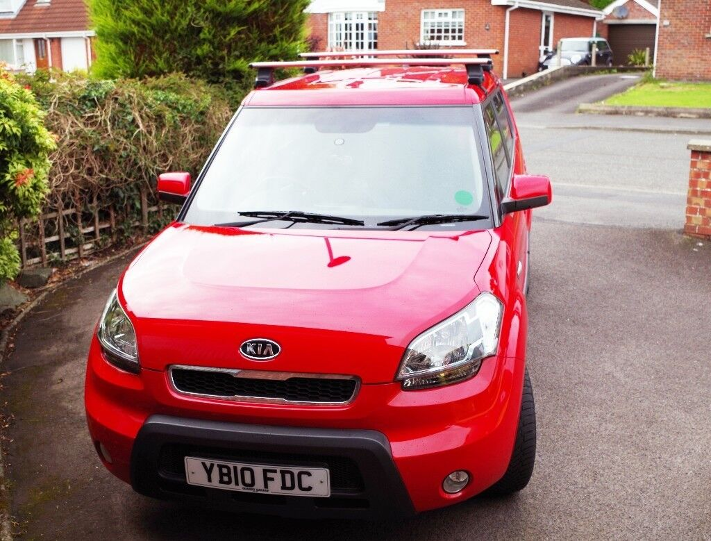 Kia Soul In Very Good Condition. Very Economical Car 50mpg. Lady Owner