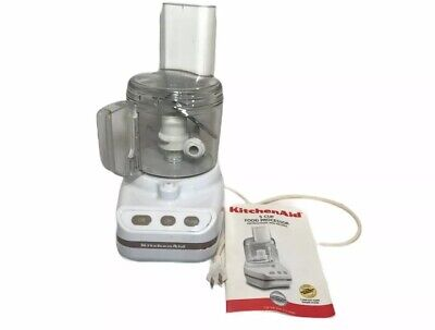 KitchenAid Little Classic 5 cup Food Processor KFP350WH