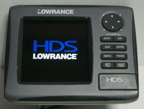 Lowrance HDS 5 Gen2  HD NAUTIC Insight GPS