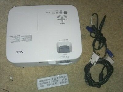 NEC NP300 Home Theater Projector  with Remote, DVI, VGA, & Power Cables