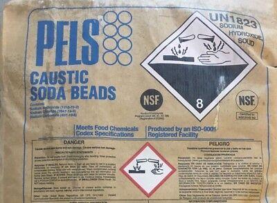 Sodium Hydroxide Fccusp Prilled Minimum 99 Pure Half Pound Bottle