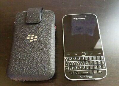 BlackBerry Classic - 16GB - UNLOCKED - Black (Verizon) Smartphone