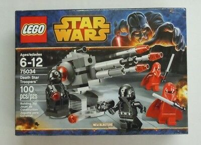 LEGO STAR WARS Death Star Troopers Set 75034 New Sealed Royal Guard Minifigs