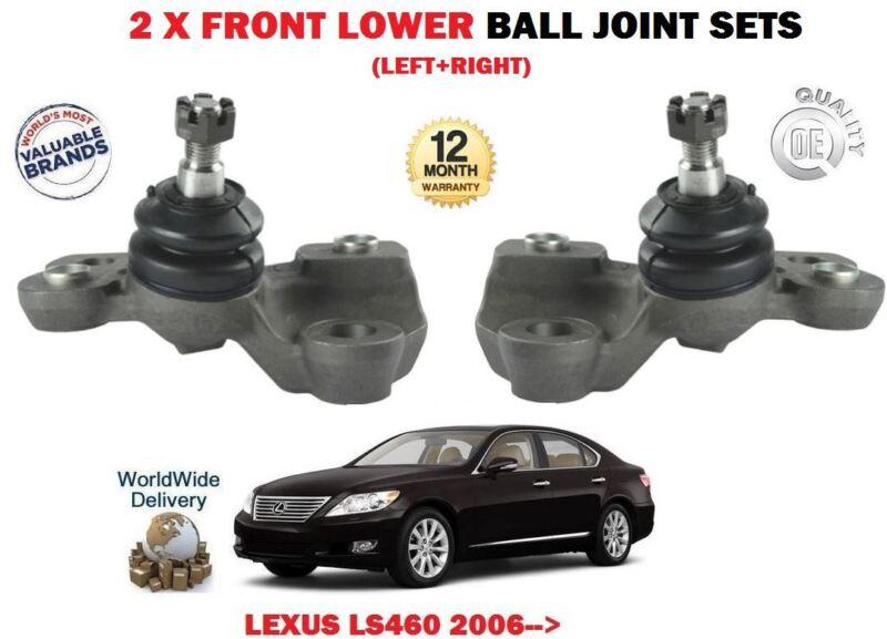 FOR LEXUS LS460 1UR-FSE 4.6 2006-> 2 X FRONT LH RH LOWER WISHBONE ARM BALL JOINT