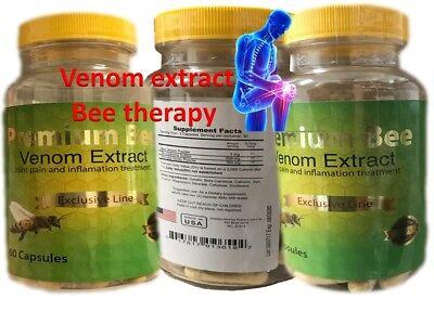Natural Bee 2 BIOBEE inflamatory Arthritis Pain abeemed therapy Venom veneno PB