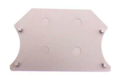 Din Rail Terminal Block End Covers 50 Quantity Dinkle Dk2.5c For Dk2.5 And Dk4