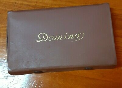Vintage Bakelite Dominoes Complete Set 28 In Original Box
