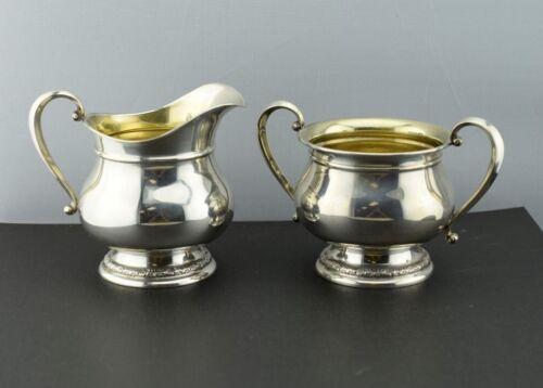 International Prelude Sterling Silver Cream and Sugar Set C147