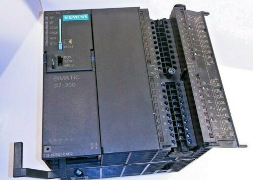 Siemens Simatic S7 CPU 313-6CE01-0AB0 w/Power Jumper & Module Connector,From USA