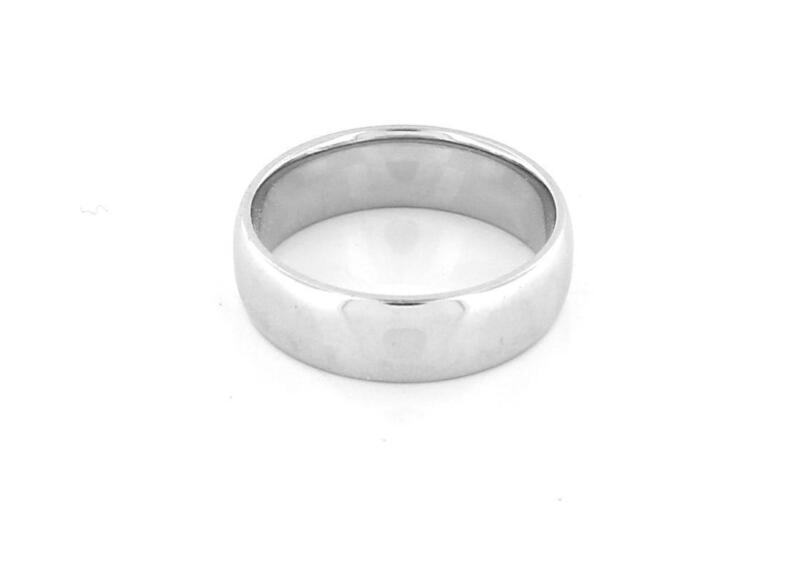 Mens Platinum Wedding Ring