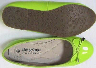 TS shoes TAKING SHAPE sz 6 / 37 Bella Patent Leather Ballet Flats comfy chic NIB 3