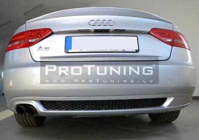 S LINE Estilo Parachoques Trasero Panal Difusor Accesorio para Audi A5 Coupe...