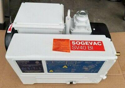 Leybold Sogevac Sv40bi Rotary Vane Pump Sv 40 Bi 180-264 5060hz